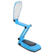 LED Touch Sensor Rechargable Desktop Table Desk Lamp Light 21-LED