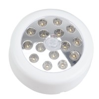 Wireless PIR Infrared Activated Auto Sensor 10 LED Light Lamp Motion Detector