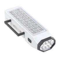 30+8 LED Light Lamp Emergency Torch Rechargable Flashlight 110-220V
