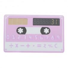 Cute Credit Card Size Pocket Calculator