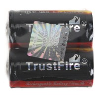2Pcs TrustFire 16340 880mAh 3.7V Rechargeable Li-Ion Batteries