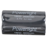 2x Li-ion 18650 Rechargeable 3.7v Torch Protected Battery 3600mAh