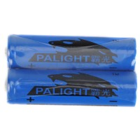 2PCS Palight 18650 3.7V 3.7 2400mAh Li-ion Rechargeable Battery