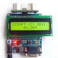 Ultrasonic Motion Detector Sensor Module Security Non-contact + Display Board