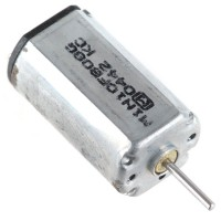 Large Torque 3V 3000RPM 10mA DC Geared Motor 5-Pack