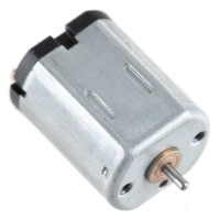Large Torque 6V 2000RPM 0.8mA DC Geared Motor 5-Pack