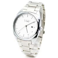 Waterproof  W8400 Stainless Steel Eyki Watch Business and Leisure Quartz Watch