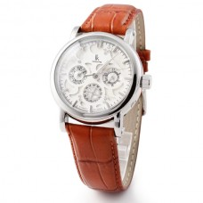 10M  Waterproof  W8400 Stainless Steel Eyki Watch Mechanical Watch 2830SSZ