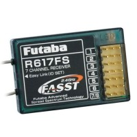 Original Futaba R617FS 2.4GHz FASST 7 Channel Receiver RX