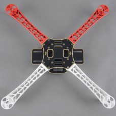 DJI F450 Airframe FlameWheel Frame for QuadCopter White/Red Support KK MK MWC