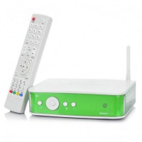 W110 1080P HDD Network Media Player WiFi / 2-USB / HDMI 1000M LAN Coaxial Optical CVBS