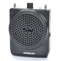 SW800 Portable Rechargeable Waist Hanging System Amplifier for Guide Teacher