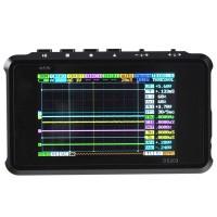 Portable Mini ARM Cortex M3 DSO203 Digital Storage Oscilloscope Black