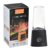Multi Card Reader USB PC LED Colorful Fountain Speaker