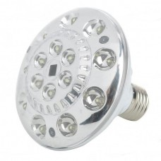 XY-715 E27 1W White 15-LED Rechargeable 1000mAh Voice Actived Light Bulbs