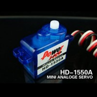 Power HD Micro Analog Servo 5.5g/ 0.9kg-cm Torque HD-1550A