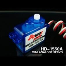 Power HD Micro Analog Servo 5.5g/ 0.9kg-cm Torque HD-1550A
