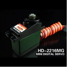 Power HD Digital Bearing Servo 15.8g/3.9kg.cm Torque HD-2216MG