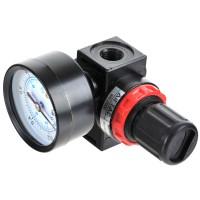 "Midsize Air Pressure Regulator 4500L/min 1/4"" RC With Gauge BR2000 Series"