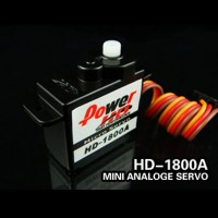 Power HD High Speed Micro Analog Servo 8g (HD-1800A)