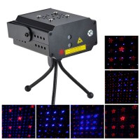 MN002RB-D4 R/G Stage Laser Light +Tripod+AC Power Supply