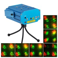 MN001-D1 R/G Stage Laser Light Projector+Laser Stage Lighting +Tripod+Remote Control +AC Power Supply