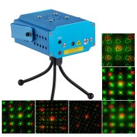 MN001-D4A R/G Stage Laser Light Projector+Laser Stage Lighting +Tripod+AC Power Supply