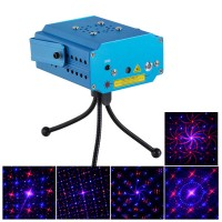 R/G Stage Laser Light Projector+Laser Stage Lighting +Tripod+Remote Control +AC Power Supply