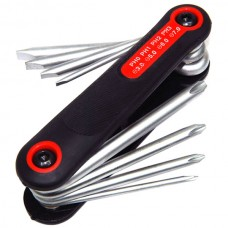 Multifuction 10 in 1 Pocket Precision Foldable Screwdriver Set