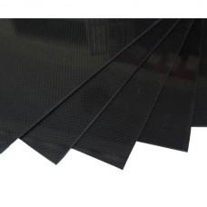 400mm*500mm 2.0mm Carbon Fiber Plate Sheet 3K Twill