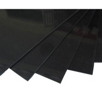 400mm*500mm 2.5mm Carbon Fiber Plate Sheet 3K Twill
