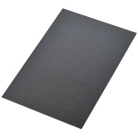 400mm*500mm 1.5mm Carbon Fiber Plate Sheet 3K Twill