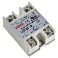 SSR Solid State Relay 40VA Relay 24-380VAC