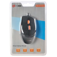 MC-070U Wired Optical Mouse For Computer Laptop Notebook Black