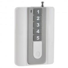 5 Channels 5 Keys Lamp Wireless RF Radio Remote Control 315MHz