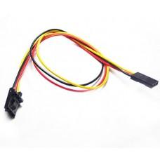 3pin Common Sensor Cable for Arduino Shield Sensor Module 200cm 5pcs