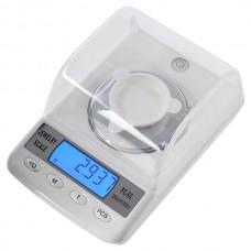 "1.7"" LCD High-Precision Digital Jewelry Scale - 50g/0.001g (4 x AAA)"