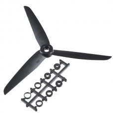 GWS 7035 7035R 7x3.5 3-blade Rotating Reversed Propeller CCW 4-Pack