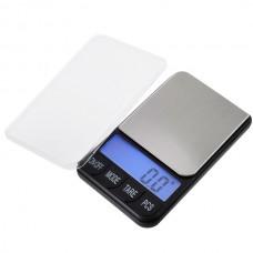 500gx0.1g Digital Pocket Scale Blue Backlight LCD Display