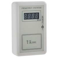 Mini Portable Digital and Analog Frequency Counter