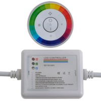 Rainbow Touch Panel Wireless Remote Controller Dimmer for RGB LED Strip Light Dome Style
