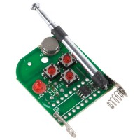 3 Channel Super Mini  Universal Remote Controller Board with signal light