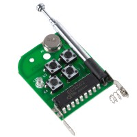 4 Channel Super Mini  Universal Remote Controller Board with Signal Light