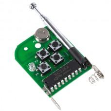 4 Channel Super Mini  Universal Remote Controller Board with Signal Light