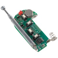 4 Channel Super Mini  Universal Remote Controller Board with Signal Light and Button Battery