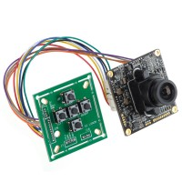 "1/3"" SONY 420TVL, LSI  HAD Super Dynamic Double SpeedProfessional Color CCD PAL Board with Button"