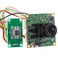 "1/3"" SONY 420TVL,original LSI Super HAD Professional Color CCD PAL Board with Cable and Button"