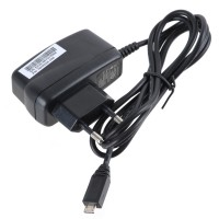 Micro 5-Pin Charger Power Adapter for HTC SAMSUNG (100~240V AC/EU Plug)