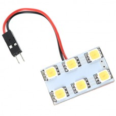 Car Interior Roof Reading Light Bulb 5252 SMD 6-LED White