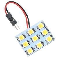 Car Interior Roof Reading Light Bulb 5252 SMD 9-LED White